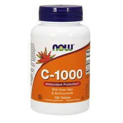 Vitamin C-1000 with Rose Hips&Bioflavon - 100tabs