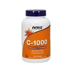 Vitamin C-1000 with Rose Hips&Bioflavon - 250tabs