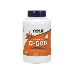 Vitamin C-500 Chewable - 100tabs
