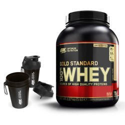 Whey Gold Standard - 2270g + Shaker Smart Shake ON - 400ml