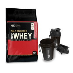 Whey Gold Standard - 4540g + Shaker Smartshake ON - 400ml