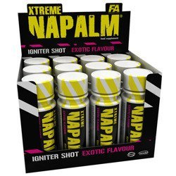 Xtreme Napalm Shot - box 12x60ml - Grapefruit