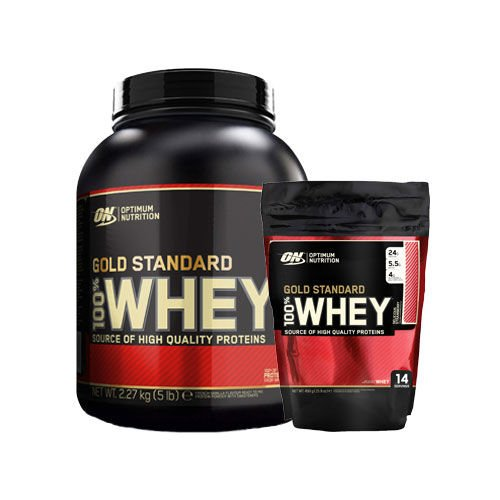 74a6f21a3 Whey Gold Standard Bag   2270g + 450g   - Best Protein In The World - 92  servings - OPTIMUM NUTRITION - shop MusclePower