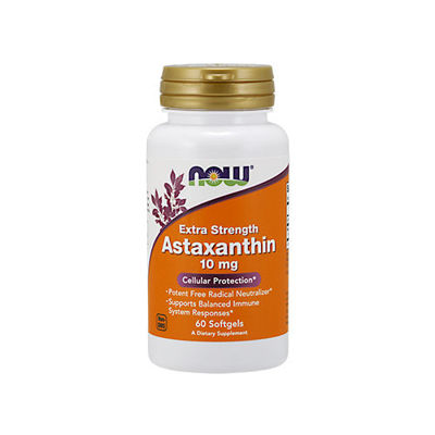 Astaxanthin 10mg - 60softgels (Extra Strength)