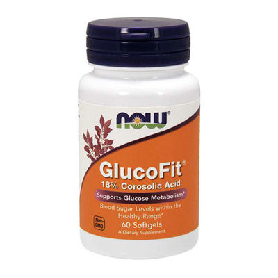 GlucoFit 18% Corosolic Acid - 60softgels
