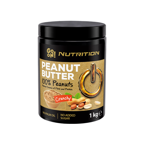 Go On Peanut Butter 100% Peanuts - 1000g - Crunchy