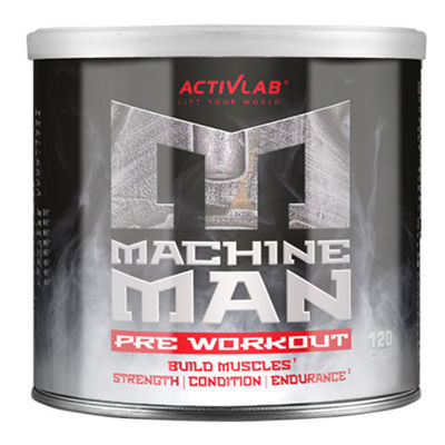 Machine Man Pre Workout - 120caps