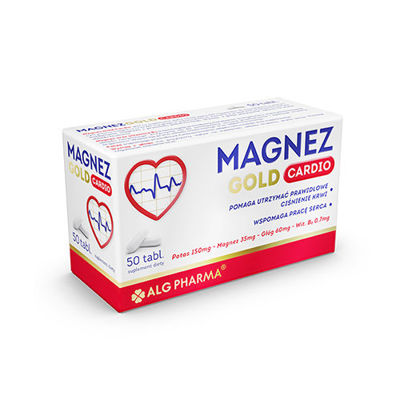 Magnez Gold Cardio - 50tabs