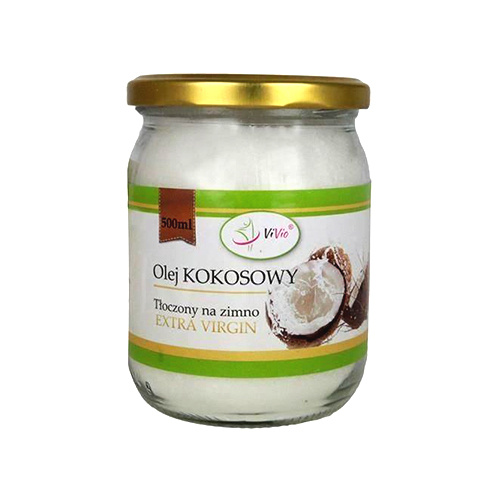 Olej Kokosowy Extra Virgin - 500ml