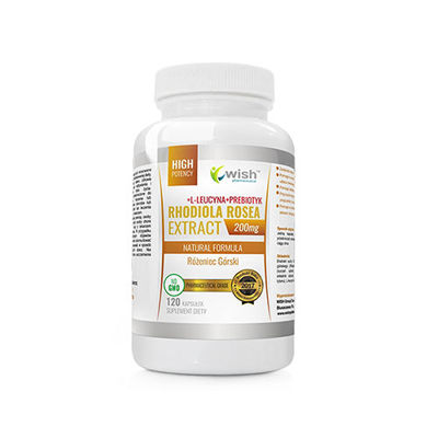 Rhodiola Rosea Extract 200mg - 120caps