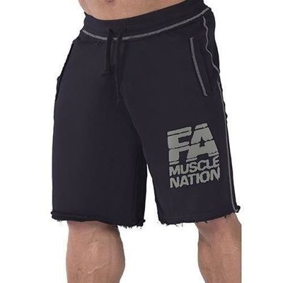 Sweatshorts - Washed - Black
