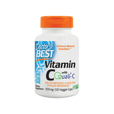 Vitamin C with Quali-C 500mg - 120vcaps