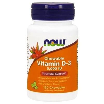 Vitamin D3 5000IU - 120 chewables