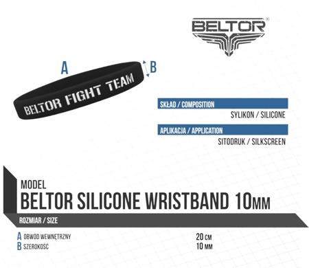 Wristband - Fight Girl Acadamy - White