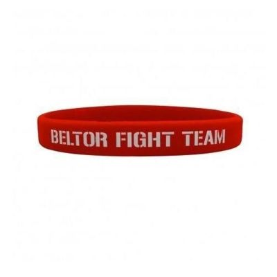 Wristband Slim - Beltor Fight Team - Red