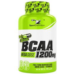 BCAA 2:1:1 1200mg - 120caps