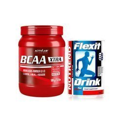 BCAA Xtra - 500g + Nutrend Flexit Drink - 400g