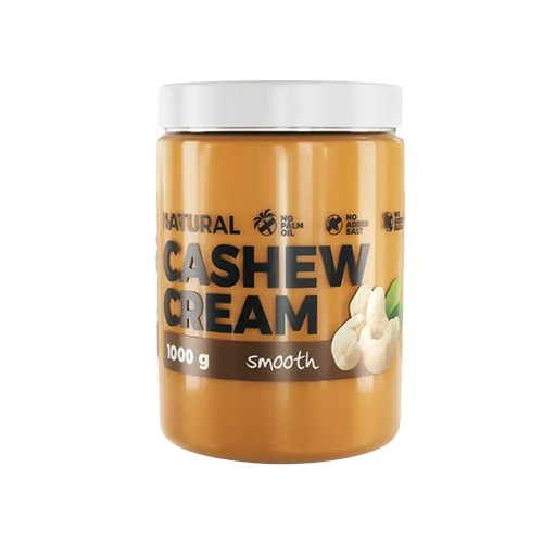 Cashew Butter Natural - 1000g - Smooth
