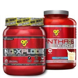 "NO Xplode 3.0 - 50s 1000g + Syntha-6 Edge - 1870g ""X-Mass Promo"""