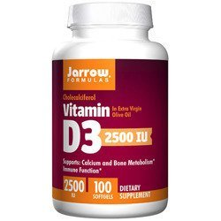 Vitamin D3 2500 IU - 100softgels.