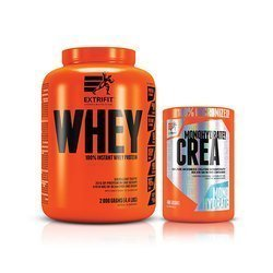 100% Instant Whey - 2000g + Creatine Monohydrate - 400g