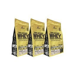 100% Natural Whey Protein Concentrate - 3x 700g (2100g)