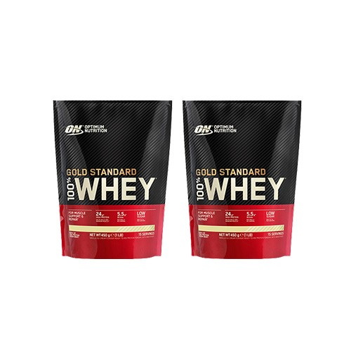 100% Whey Gold Standard Bag - 2x 450g (900g)