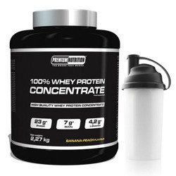 100% Whey Protein Concentrate - 2270g + Shaker GRATIS