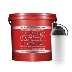 100% Whey Protein Professional - 5000g + Shaker