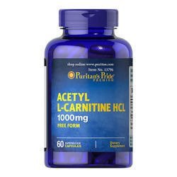 Acetyl L-Carnitine 1000mg - 60caps.
