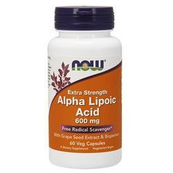Alpha Lipoic Acid 600mg - 60vegcaps.