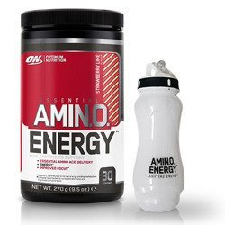 Amino Energy - 270g + Water Bottle Ice Core - 650ml GRATIS