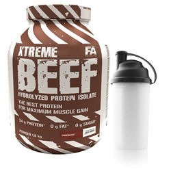 BEEF PROTEIN ISOLATE - 1800g  + SHAKER