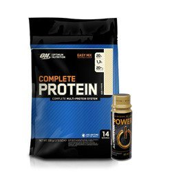 Complete Protein - 500g + Go On Power Activator Shot - 60ml