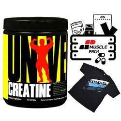 Creatine Micronized - 500g + T-Shirt + Muscle Pack GRATIS