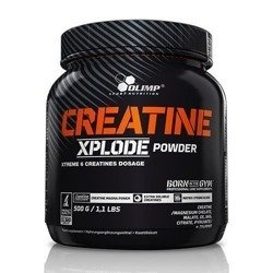 Creatine Xplode - 500g - Orange + 2 próbki
