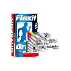 Flexit Drink - 400g + Vita-Min Multiple Sport - 60caps Limited