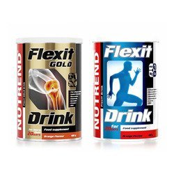 Flexit Drink Gold - 400g + Flexit Drink - 400g