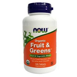 Fruit & Greens Organic - 120tabs.