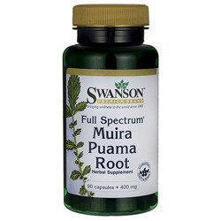 Full Spectrum Muira Puama Root 400mg - 90caps