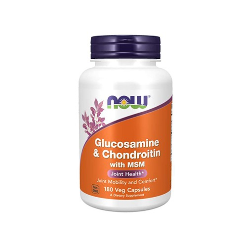 Glucosamine & Chondroitin WITH MSM - 180caps