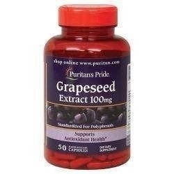 Grapeseed Extract 100mg - 50caps - Promocja