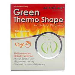 Green Thermo Shape - 30caps  - Black Friday