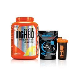 High Whey 80 - 2270g + BCAARBS - 1000g + IHS - Shaker - 700ml