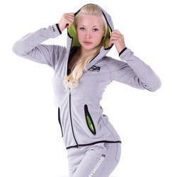 Hoodie Jacket - Grey/Neon Flash