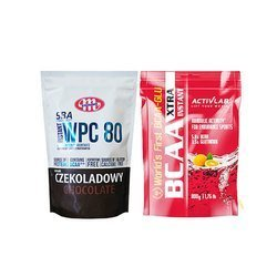 Instant WPC 80 SBA - 700g + BCAA Xtra - 800g