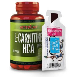 L-Carnitine HCA Plus - 50caps + ENDURANCE GEL 40g