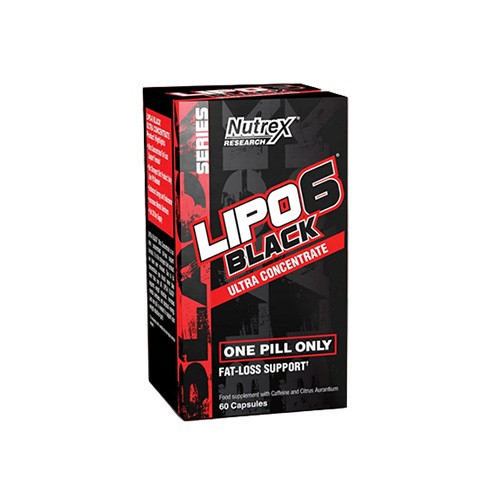 Lipo 6 Black Ultra Concentrate - 60caps