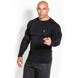 Longsleeve Man's - Compression - Black