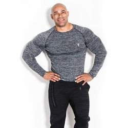 Longsleeve Man's - Compression - Dark Grey